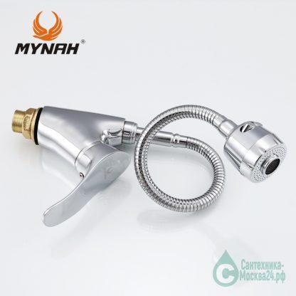Смеситель с гибким изливом MYNAH M5201 серии M01 (6)