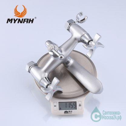 Смеситель с коротким поворотным изливом для ванны M3060H MYNAH вес