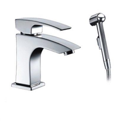 Смеситель FRAP F1207 для раковины с гигиеническим душем