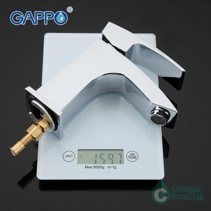 Смеситель GAPPO G1207 для раковины с гигиеническим душем вес