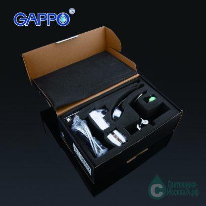 Смеситель GAPPO G2207-35Х для ванны с душем комплект поставки