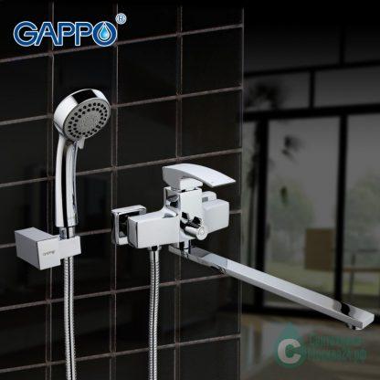 Смеситель GAPPO G2207-35Х на стене
