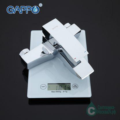 Смеситель GAPPO G3007 вес