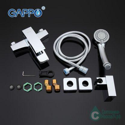 Смеситель GAPPO G3007 для ВАННЫ комплект