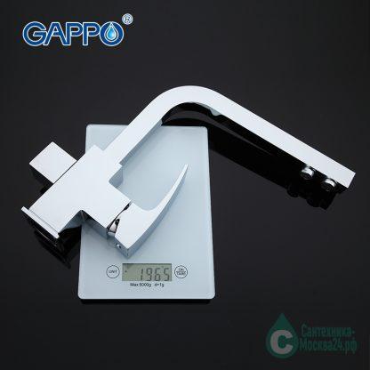 Смеситель GAPPO G4307 для кухни с краном для питьевой воды вес