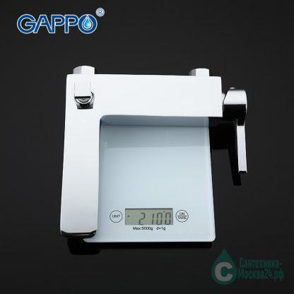Смеситель Gappo Chanel А4 G3004 для ванны на весах