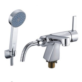 Смеситель Gappo Chanel G1204 для раковины с гигиеническим душем душем (1)