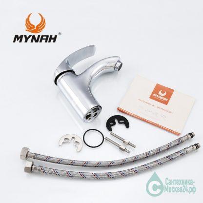 Смеситель MYNAH для раковины Артикул M1003 однорычажный (7)
