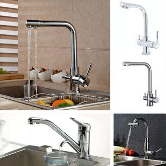 Смесители для кухни с краном для питьевой воды