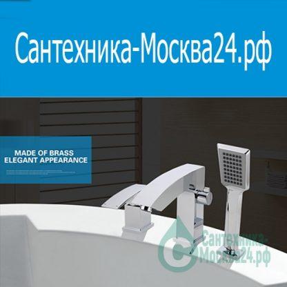 смеситель G1107 JACOB A7 GAPPO на борт ванны