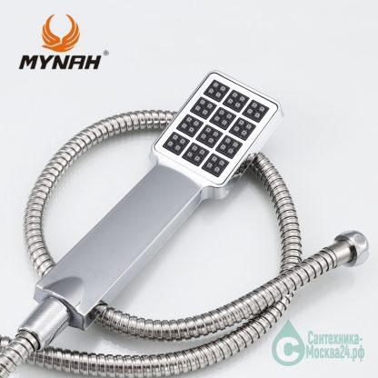 MYNAH M2204 для ванны хром однорукий лейка