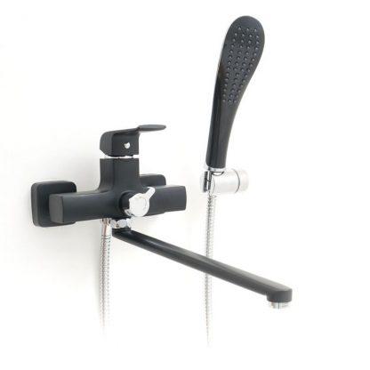 Смеситель GAPPO AVENTADOR G2250 для ванны черный (3)