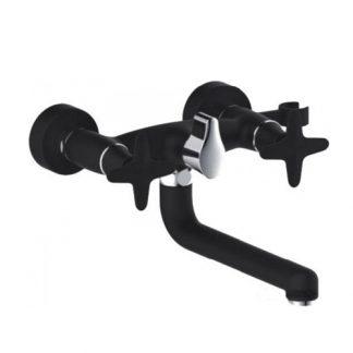 Смеситель GAPPO EVORA G3251 для ванны двухвентильный черный