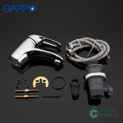Смеситель GAPPO FABIO G1038 для раковины (4)
