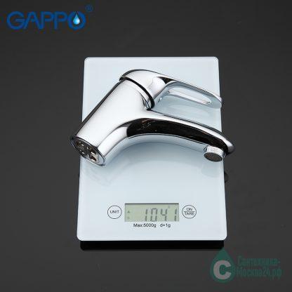 Смеситель GAPPO FABIO G1038 для раковины (5)