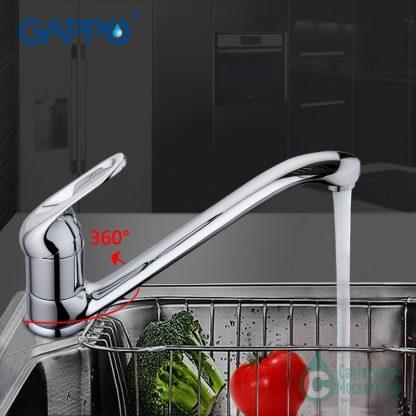 Смеситель GAPPO FABIO G4238 для кухни (6)