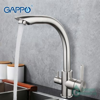 Смеситель GAPPO G4399 с краном для питьевой воды (6)