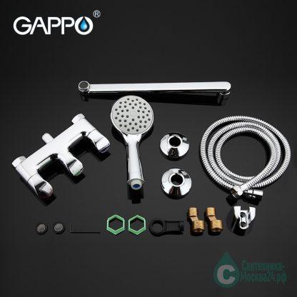 Смеситель GAPPO MANGOO G2241 для ванны (6)