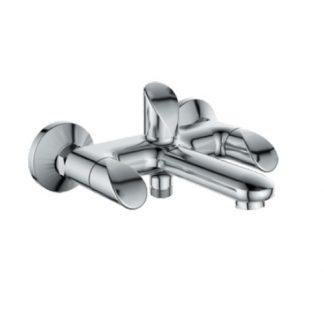 Смеситель GAPPO MANGOO G3241 для ванны короткий излив двухвентильный хром