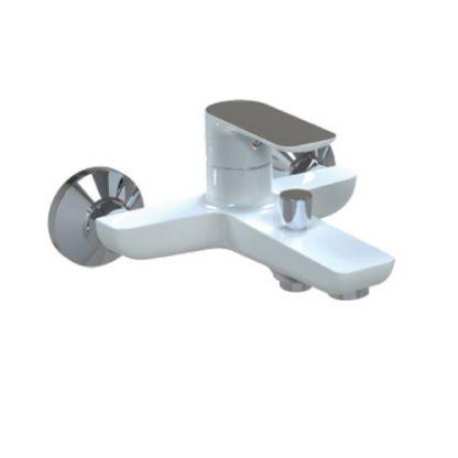 Смеситель GAPPO NOAR G3048 для ванны однорычажный белый