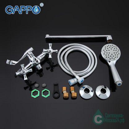 Смеситель GAPPO POLLMN G2242 для ванны (4)