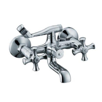 Смеситель GAPPO POLLMN G3242 для ванны двухвентильный хром