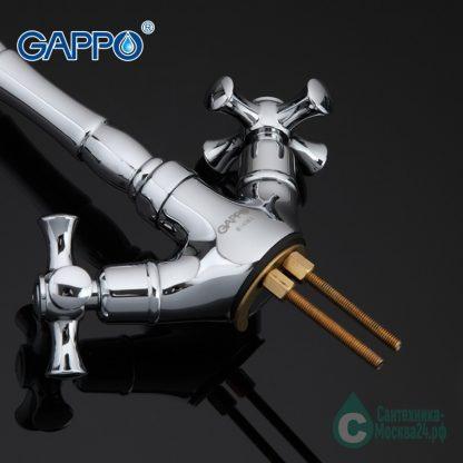 Смеситель GAPPO POLLMN G4042 для кухни (3)