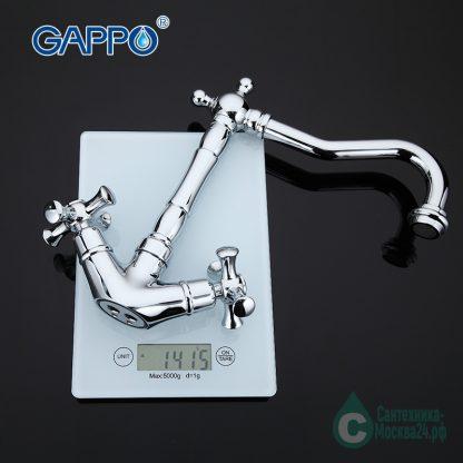 Смеситель GAPPO POLLMN G4042 для кухни (5)