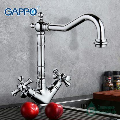 Смеситель GAPPO POLLMN G4042 для кухни (6)