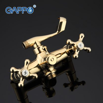 Смеситель GAPPO SOFIA G2263-6 для ванны в цвете золото (1)