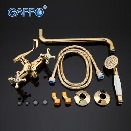 Смеситель GAPPO SOFIA G2263-6 для ванны в цвете золото (3)