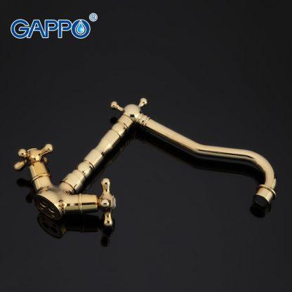 Смеситель GAPPO SOFIA G4063-6 для кухни золото
