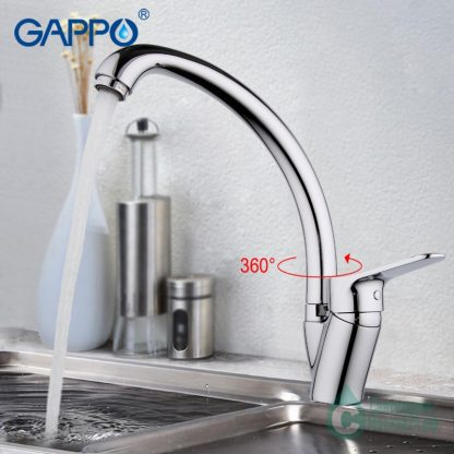 Смеситель GAPPO VANTTO G4136 для кухни (6)
