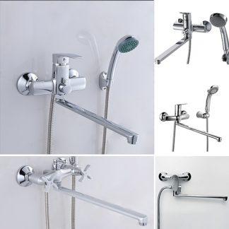 Длинные смесители для ванны